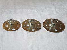 Steel Hanging Hook Plate max load 50-80kg for Lighting