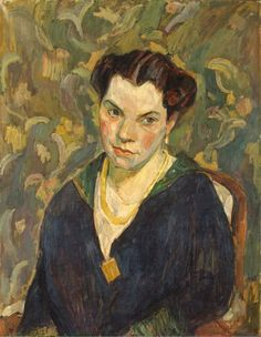 Portrait of Mary Braune, Hans Purrmann. Germany (1880 - 1966)