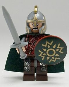 Eomer LEGO Lord of the Rings Minifigure Yes I pinned this just because of the expression his face
