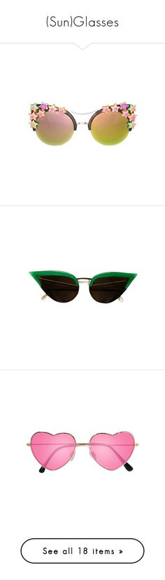 """""""(Sun)Glasses"""" by mooncollector ❤ liked on Polyvore featuring accessories, sunglasses, eyewear, glasses, occhiali, h&m sunglasses, h&m glasses, brown, mirror lens sunglasses and brown sunglasses"""