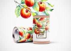 упаковка фруктовых конфет on Behance