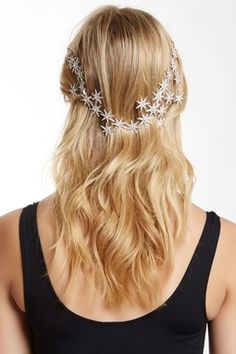 Crystal Starburst Cluster Hair Jewelry