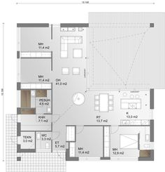 Own Home, House Plans, New Homes, Floor Plans, Flooring, How To Plan, Architecture, Ark, Highlights