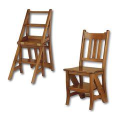 Стул-лестница: LSC-M     Бренд: Satin Furniture     Страна: Индонезия  Стул-лестница ручной работы. Модель изготовлена из массива красного дерева. Размеры, см: 80х42х40.