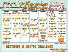 November 2014 - Gratitude & Glutes