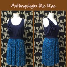 "Anthro ""Pendulum Dress"" by Ric Rac Soft stretch knit, pull on styling, older Anthro piece. Great condition.  **  Prices are as listed- No offers please.  I'm happy to bundle to save shipping costs, but there are no additional discounts.  No trades, paypal or condescending terms of endearment  ** Anthropologie Dresses"