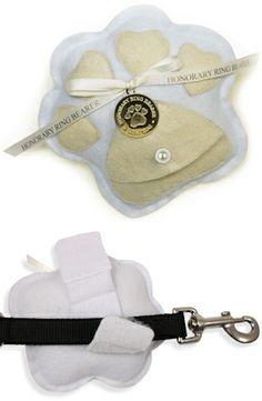 Honorary Ring Bearer Pillow for Dogs