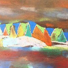 Northern Lights, King, Painting, Instagram, Art, Painting Art, Aurora, Paintings, Kunst
