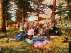 Summer is here and the Picnic at Cot Beach is in order.