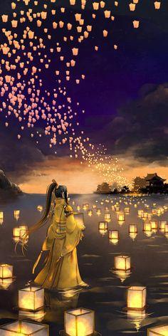 52 new ideas for cute landscape illustration art of animation Japon Illustration, Landscape Illustration, Art Anime, Anime Art Girl, Fantasy Landscape, Landscape Art, Main Manga, Free Android Wallpaper, Art Asiatique