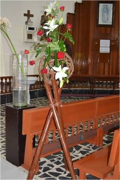 1000 images about decoracion de iglesias on pinterest - Decoracion con bambu ...