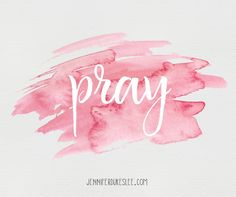 There's one kind of conversation that you'll never regret, that always bears fruit, that's never a waste of time, and that gives you access to the One in charge. That's a conversation with God.  Pray. It matters. It unleashes unfathomable power.