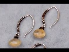 ▶ Jewelry How To - Add Wire Wrapped Accents to your Jewelry Designs - YouTube