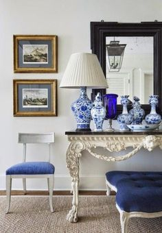 ZsaZsa Bellagio – Like No Other: At Home: Royal Blue Beautiful