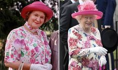 How Queen Elizabeth Is Keeping Up Appearances: Queen Is Mirroring Hyacinth Bucket At Garden Party. How Her Majesty is Keeping Up Appearances: Queen is captur. British Tv Comedies, British Comedy, British Actresses, Actors & Actresses, Keeping Up Appearances, 70s Tv Shows, Comedy Tv, To Loose, Keep Up