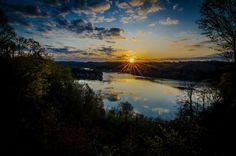 Summersville Lake in West Virginia by Melvin Hartley