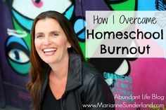 """No one is immune to homeschool burnout."" 