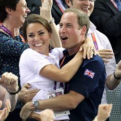 Another cute picture of William and Kate!