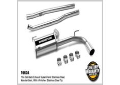 Dodge Caliber Magnaflow Performance Exhaust - Single Rear Exit, Cat-Back