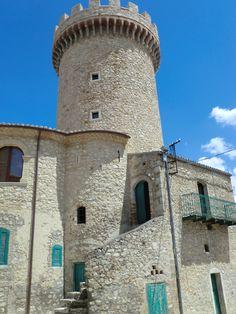 Colletorto (Molise) Italy, torre Angioina, by Joe Simone