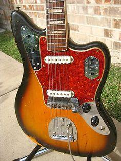 Great vintage Fender Jaguar guitar on eBay!
