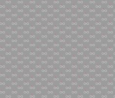 Pastel Potter - Red Glasses fabric by kritterstitches on Spoonflower - custom fabric