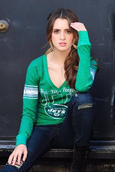 Hey.  I'm Laura Marano.  I'm an actress as well as a singer/songwriter.  I'm 20 years old and single.  I'm here as a sound person, but I'm hoping to get a chance on the stage.