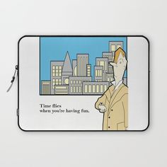 Time Flies.... Laptop Sleeve