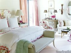 Dressy, but not too fussy! Great use of a bold, over-sized fabric!