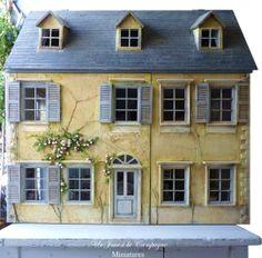 Miniaturas para casa de muñecas. Casa de muñecas de Lea Frisoni.