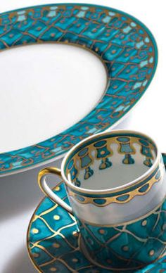 Petrouchka blue - Russian design, Petrouchka by J. Seignolles