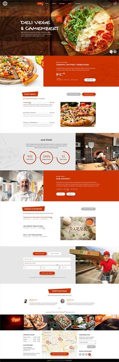 Foody is a clean, modern #PSD Template made for #Restaurants, Fast Food, #Pizza Shops websites download now➩ https://themeforest.net/item/foody-multipurpose-fast-foodrestaurant-psd-template/19306628?ref=Datasata