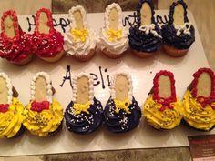 High heel cup cakes
