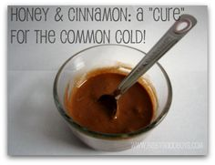 2 ingredients combined to make a cure for the common cold!