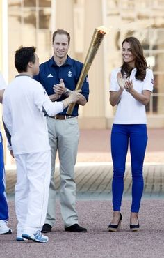 Will & Kate at the Olympics - July 2012