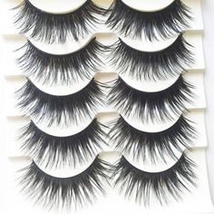 Cheap Price 1 Pair Exaggerated Super Cool False Eyelashes Stage Show Fashion Black Handmade Paper Cut Fake Eyelashes Makeup Extension Tool Beauty & Health