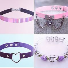 Get collared! Four new colours added to the store. Free shipping on everything  link in bio! . #collar #choker #slave #daycollar #ddlg #ddlglifestyle #petplay #kittenplay #littlespace #bdsm #pastel #pastelgoth #pastelgrunge