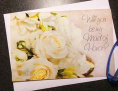 Will you be my Bridesmaid card wedding by LilyLilesWeddingco, $4.95  https://www.etsy.com/listing/177573977/will-you-be-my-bridesmaid-card-wedding