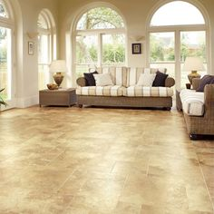 Karndean Flooring is a beautifully classic and durable collection in tile and wood plank options. It gives off an amazing feel that is not common.
