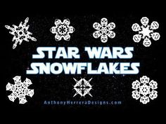 51 Free Paper Snowflake Templates—Star Wars Style!