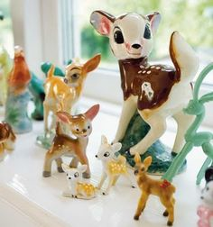 Small but beautiful vintage porcelain animal figures, i cant get enough!