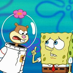"""This article is a gallery of screenshots taken from the SpongeBob SquarePants episode """"Sandy, SpongeBob, and the Worm"""" from season two, which aired on October Spongebob And Sandy, Gummy Bears, Spongebob Squarepants, Disney Animation, Worms, Pikachu, Cartoons, Nerd, Fandoms"""