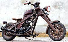 Wood Motorcycle