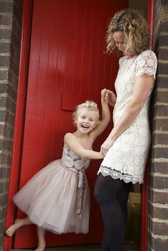 Chilli in Tutu Du Monde at the office door on the weekend by Anna Ryan Photography, via Flickr