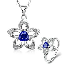 By choosing this pair of excellent quality Jewelry Set, it attracts a lot of attention and lets everyone acknowledge your sense of style and fashion. Environment friendly materials are nickle and lead