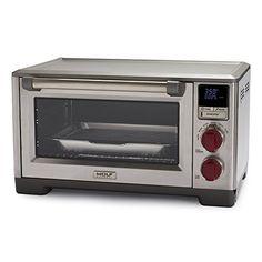 Wolf Gourmet Countertop Oven Amazon : Wolf Gourmet Countertop Oven, Red Knob Wolf Gourmet http://www.amazon ...