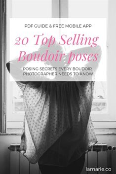 the ultimate boudoir posing guide for photographers who work with boudoir clients. A guide on how to direct clients in effective boudoir poses. Bouidor Photography, Boudoir Photography Poses, Boudoir Photographer, Photography Business, Photography Courses, Photography Reflector, Photography Journal, Photography Hashtags, Photography Outfits