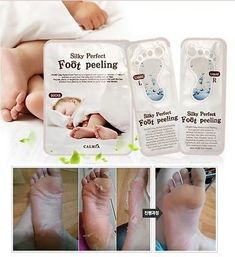 Baby Foot Care Easy Pack Deep Skin Exfoliation Peeling Remove Dead Calluses | eBay