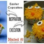 Key Lime Easter Cupcakes: Nailed It