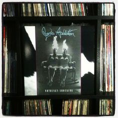 """wish I was ocean size"" #nowspinning #janesaddiction #nothingsshocking #vinyl #recordcollection #love 1988"